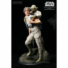 Star Wars Sideshow Collectibles Luke & Yoda Training On Dagobah New