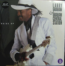 PRINCE LP x 2 + CD LARRY GRAHAM Raise Up SEALED Vinyl featuring Prince on 2 Trks
