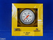 Auto Meter 4321 Ultra Lite Oil Pressure Gauge 0 - 100 PSI Mechanical 2 1/16