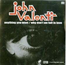 JOHN VALENTI-ANYTHING YOU WANT / WHY DON`T WE...-JAPAN 7INCH VINYL Ltd/Ed D73