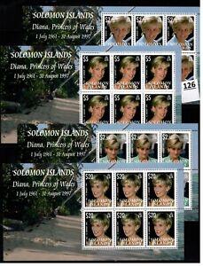 // SOLOMON ISLANDS - MNH - PRINCESS DIANA - FAMOUS PEOPLE - 1997
