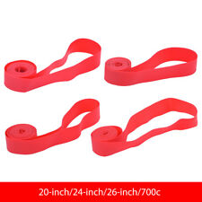 2pcs PVC Bicycle Inner Tube Tyre Protective Pad Liner Bike Tire Rim Tape DY