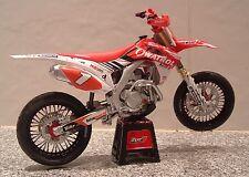 1:12 13 Honda HRC fábrica CRF450R CRF450 Supermoto Champ Modelo Sylvain Bidart #1