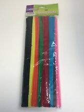 Creativity Street Chenille Stems/Pipe Cleaners 12 in x 6mm 100 Pieces, Assorted