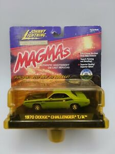Johnny Lightning 1:43 Die-cast Magmas  '70 Dodge Challenger T/A Green SHIPS FREE