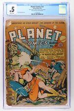 Planet Comics #17 - Fiction House 1942 CGC 0.5