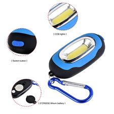 Portable Super Mini COB Light LED FlashLight Key Ring Torch 3 Mode Keychain Lamp