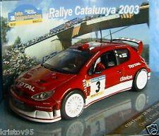 PEUGEOT 206 WRC 1ST RALLY CATALUNYA 2003 VITESSE 1/43 PANIZZI RALLYE SPANIA