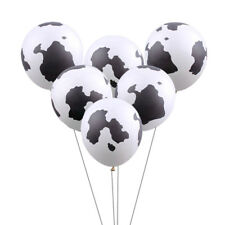 10pcs 12inch Cow Print Latex Balloons For Cowboy Cowgirl Western Party Decor  UP