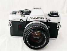 Olympus OM10 Film Camera & OM 50mm F1.8 Lens, New Seals, Working Perfectly