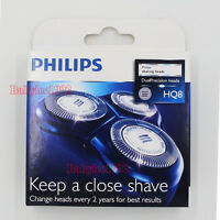 New 3 X Replacement Razor Shaver Heads Blade Cutter for Philips Norelco HQ8/52