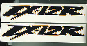 ZX12R Decals / Stickers LARGE for Right and Left Side Fairings (ANY COLOUR)