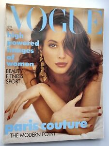 VOGUE Magazine 1988 April COMPLIMENTARY GIFT WRAP Fast Dispatch
