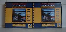 Pimsleur French 3A and 3B 18CDs Used and in good condition