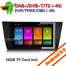 "9""Android 9.0 GPS DAB+ USB Radio Navi Autorradio BMW 3 Series E90 E91 E92 E93 M3"