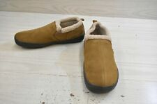 Hideaway by L.B. Evans Roderic Slippers, Men's Size 9 M, Hashbrown MSRP $41.95