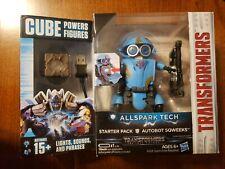 Transformers Allspark Tech Cube Powers Figure Starter Pack Autobot Sqweeks NEW