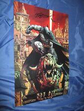 BATMAN Signed Art Print by Tony McDaniel (DC Comics/Dark Knight/Detective)