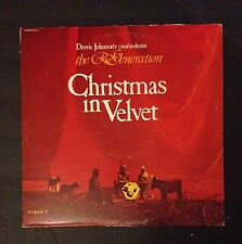 Derric Johnson's Vocal Orchestra The Re'Generation Christmas In Velvet Vinyl LP