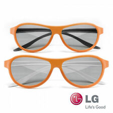 Genuine LG AG-F400DP Cinema 3D Dual Play Gaming Glasses (2 Pair) Ships from Aust
