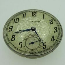 Antique Marlboro Watch Co. 12s 16J Swiss Movement and Dial Parts