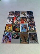 Gary Payton:  Lot of 160 cards.....119 DIFFERENT / Basketball