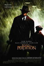 ROAD TO PERDITION Movie POSTER 27x40 Tom Hanks Paul Newman Jude Law Tyler