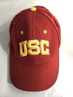 Vintage USC Trojans Zephyr Cap Hat Fitted Deadstock 90's Throwback 7 1/8