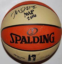 NNEKA OGWUMIKE signed (LOS ANGELES SPARKS) WNBA Replica game basketball W/COA