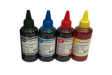 EDIBLE INK REFILL SET FOR CANON PRINTERS 4 x 100ml