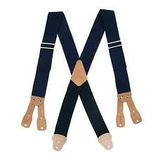 New CTM Men's Big & Tall Non-Elasticized Button End Work Suspenders