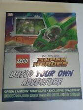Lego DC superheroes Build your own adventure book & green lantern minifigure