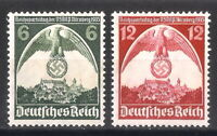 DR Nazi 3rd Reich Rare WW2 STAMP NURENBERG Congress NSDAP Party Swastika Eagle