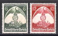 DR Nazi 3rd Reich Rare WW2 STAMP NURENBERG Congress NSDAP Party Swastika Eagle
