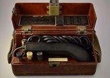 Vintage Military Field Phone Army telephone TAP-77 Bakelite Box