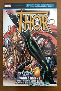 THOR Marvel Epic Collection Vol. 23 Worldengine 2018 TPB GN SC NEW UNREAD