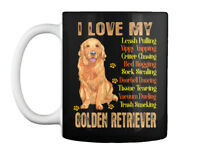 Premium Love With My Golden Retriever - I Gift Coffee Mug Gift Coffee Mug