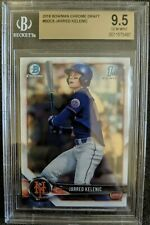 2018 Bowman Draft Chrome 1st Jarred Kelenic BDC-6 BGS 9.5 GEM MINT PSA 10?