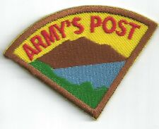 Cumberland Valley Girl Scout Camp Army's Post Patch Wedge (GS Middle Tennessee)