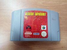 Mission Impossible - Nintendo 64 - N64 - PAL UK-