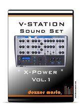 """Novation V-Station """"X-POWER"""" VOL.1 - 100 Sound Patches / Sound Presets"""