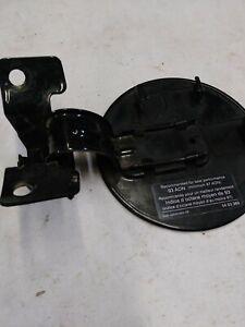 99-04 Saab 9-5 black gas door