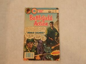 Battlefield Action #67 Charlton 1981 GD
