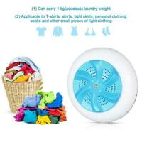 Portable Ultrasonic Turbo Washing Machine Personal Laundry Washer USB