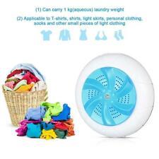 Portable Ultrasonic Turbo Washing Machine Personal Laundry Washer USB