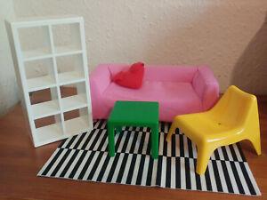 Ikea huset doll furniture living room 1/6 scale barbie sindy azone BJD blythe