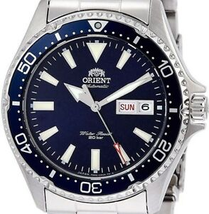 New!! ORIENT SPORTS Diver Style RN-AA0002L Navy Men's Watch Made in Japan
