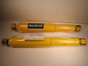 2X Monroe Gas-Matic Shock Absorber 59034 yellow. GENUINE USA.  Pair