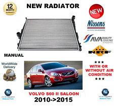 FOR VOLVO S60 RADIATOR 2010->2015 SALOON MANUAL T3 T4 D2 D3 2.0 DRIVE OE QUALITY