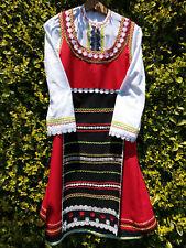BULGARIAN National FEMALE costume set - NEW, RED&BLACK - NOSIYA НОСИЯ